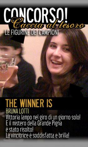 La vera vincitrice!