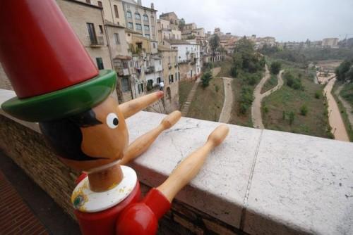Pinocchio e il Parco Diocleziano