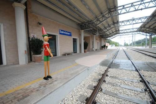 Pinocchio alla Stazione di Lanciano