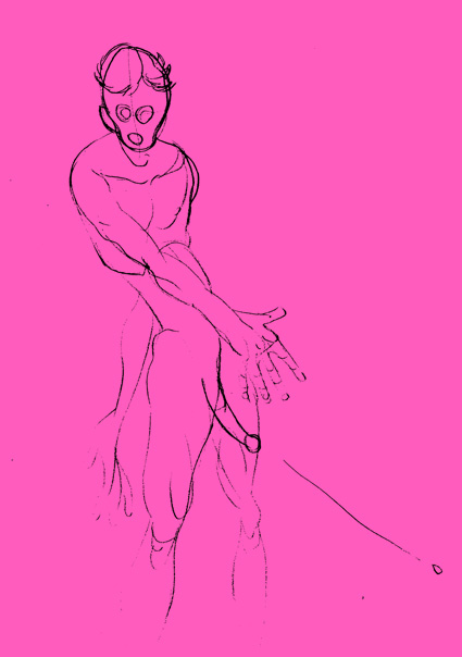 PinkBigPen - art by lucadifrancescantonio.it for the lawyer