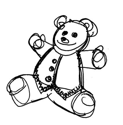 Teddy, l'orso di peluche